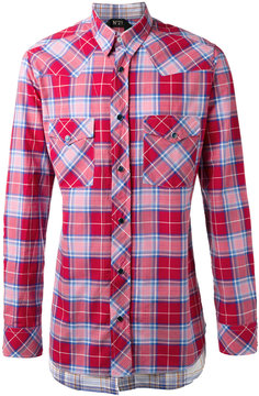 No.21 checked shirt