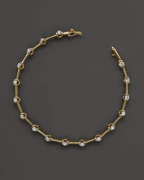 Bloomingdale's Diamond Station Bracelet in 14K Yellow Gold, 1.50 ct. t.w. - 100% Exclusive