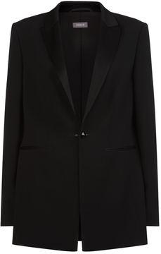 Basler Rhinestone Buttoned Blazer