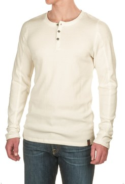 Gramicci Jak Waffle Henley Shirt - Stretch Cotton, Long Sleeve (For Men)
