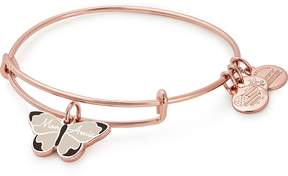 Alex and Ani Mon Amie Butterfly Color Infusion Charm Bangle