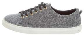 Sandro Glitter Low-Top Sneakers