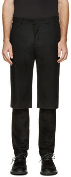 D.gnak By Kang.d Black Layered Trousers