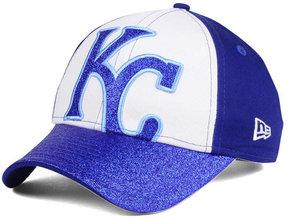 New Era Kids' Kansas City Royals Shimmer Shine Adjustable Cap