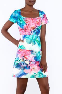 Coast Flowered Dress