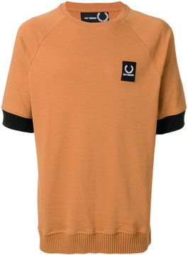 Fred Perry contrast cuff T-shirt