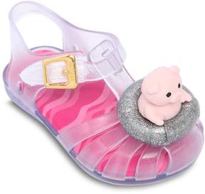 Mini Melissa Scented Rubber Sandals
