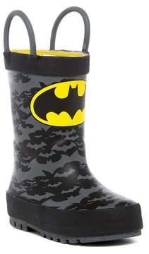 Western Chief Batman Crime Fighter Rain Boot (Toddler & Little Kid)