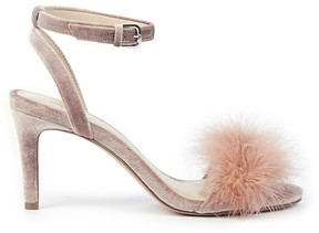 Sole Society Lindzay Feather Detail Sandal