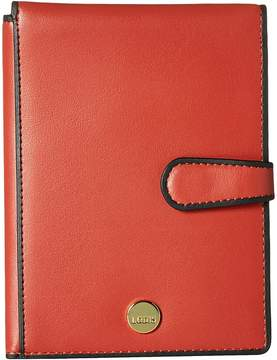 Lodis Rodeo RFID Passport Wallet with Ticket Flap