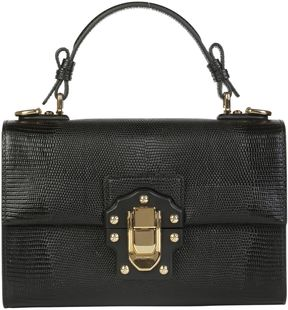 Dolce & Gabbana Lucia Handbag - NERO - STYLE
