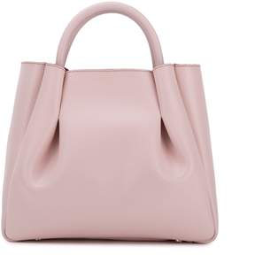 Alexandra de Curtis - Midi Ruched Tote Blush Pink