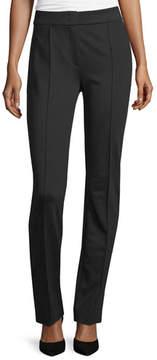 Escada Tonisu Straight-Leg Pants, Black