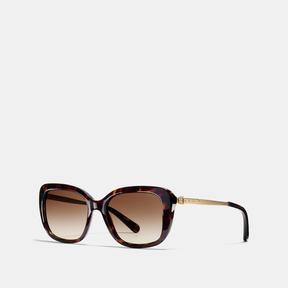 Coach Buckle Square Sunglasses