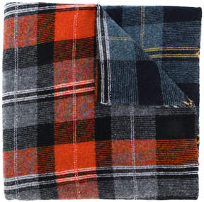 Stella McCartney checked scarf