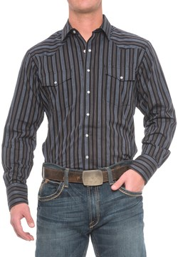 Roper Western Shirt - Snap Front, Long Sleeve (For Big and Tall Men)
