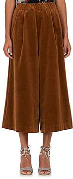 08sircus Women's Stretch-Cotton Velvet Culottes