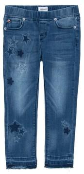Hudson Infant Girl's Stardust Skinny Jeans