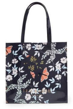 Ted Baker Large Icon - Kyoto Gardens Tote - Blue