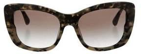 Miu Miu Marbled Cat-Eye Sunglasses