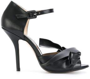 No.21 twist detail sandals