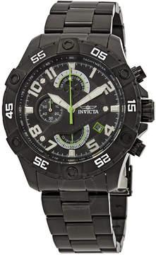 Invicta S1 Rally Chronograph Black Dial Men's Watch