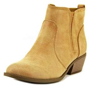 G by Guess Towny Women Round Toe Synthetic Tan Bootie.