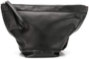 Paco Rabanne zip top clutch bag