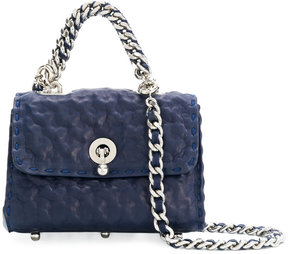 Ermanno Scervino hammered shoulder bag