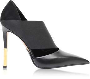 Balmain Audrey Black Leather Pump