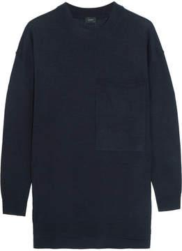 Joseph Oversized Merino Wool Sweater - Navy