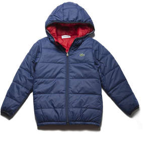 Lacoste Boys' Reversible Bicolor Quilted Jacket