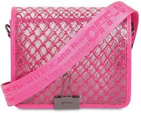 Off-White Medium Grid Pvc Shoulder Bag