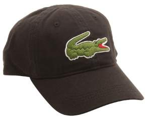 Lacoste Mens Big Croc Hat in Black O/S M US