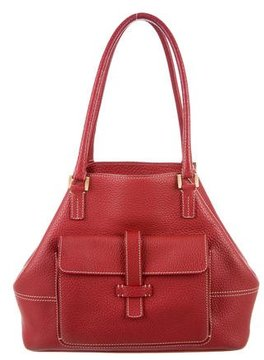 Loro Piana Leather Globe Bag