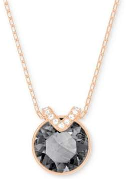 Swarovski Bella V Pendant - Gray - Rose Gold Plating - 5349962