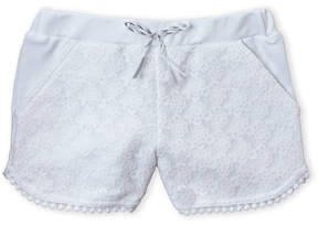 Flapdoodles Girls 4-6x) Crochet Front Shorts