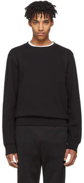 Maison Margiela Black Elbow Patch Sweatshirt