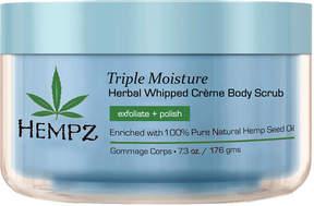 Hempz Triple Moisture Herbal Whipped Creme Body Scrub