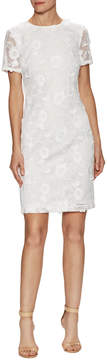 Donna Ricco Women's Lace Sheath Dress