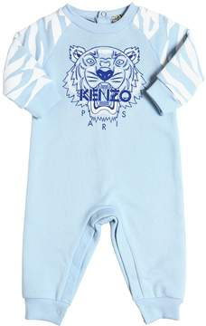 Kenzo Tiger Printed Cotton Romper