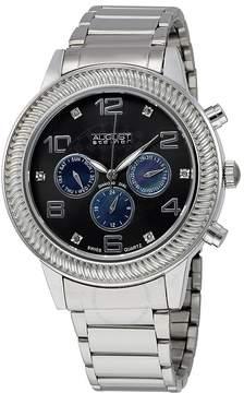 August Steiner Black Men's Watch