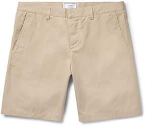 Ami Cotton-Twill Bermuda Shorts