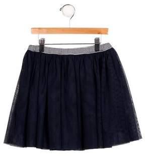 Petit Bateau Girls' A-Line Tutu Skirt