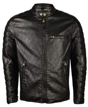 Andrew Marc Mens Watkins Jacket In Black.