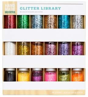 Hand Made Modern - Glitter Library y- 18ct