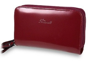 Fontanelli Two Zipper Spacious Wallet