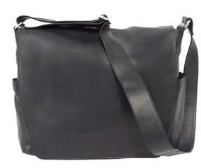 Piel Leather Urban Messenger Bag