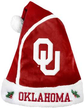 NCAA Adult Oklahoma Sooners Santa Hat