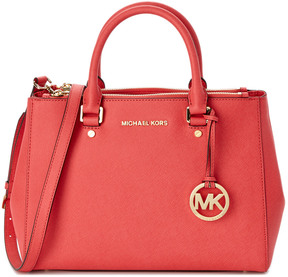 MICHAEL Michael Kors Sutton Leather Satchel - ONE COLOR - STYLE